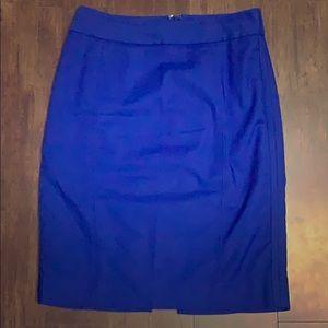 WHBM Royal Blue Pencil Skirt